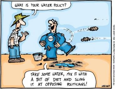 water policy cartoon
