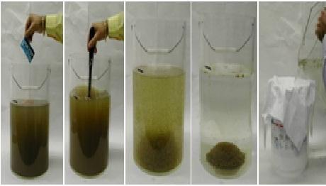 alum filtration method